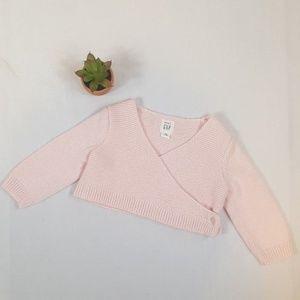 BABY GAP ~ Crop Sweater ~ 3-6 M ~ BD10*